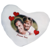 achat coussin coeur personnalise